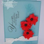 Postage Stamp Poppies