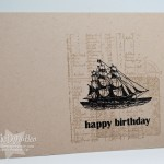 Masculine One-Layer Birthday Card
