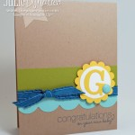 Personalized Baby Cards