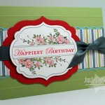Apothecary Birthday Card