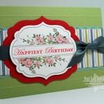 Apothecary Birthday Card