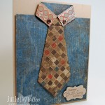 Origami Shirt & Tie Card