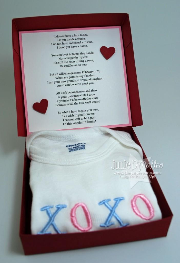 Pregnancy Announcement The Paper Pixie – Baby Announcement to Parents
