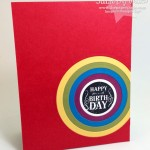 Rainbow Birthday Circles