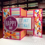 Tri-Fold Shutter Card with Video!