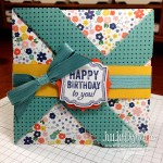 Pinwheel Fancy Fold Card with Video!