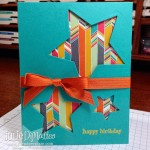 Quick & Easy Confetti Celebration Stars Card