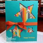 Quick & Easy Confetti Celebration Stars Card