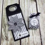 Wine Bottle Tag and Tiny Gift Bag Favor