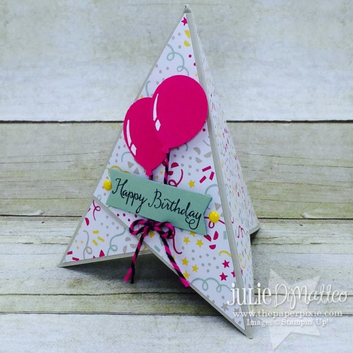 Teepee Birthday Card