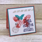Butterfly Basics Collage Stamping Mini Card