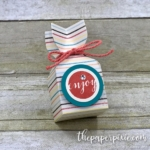 Envelope Punch Board Treat Holder with Video Tutorial