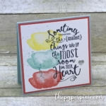 Layering Love Mini Card with a Sneak Peek!