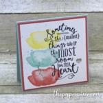 Layering Love Mini Card with a Sneak Peek!