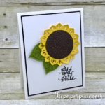 Eastern Palace Sunflower Card