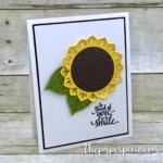 Eastern Palace Sunflower Card