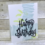 Playful Backgrounds Birthday Card