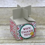 Cross Top Treat Box with Video Tutorial