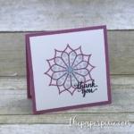 Eastern Beauty Mini Card