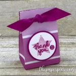 Gift Bag Punch Board Mini Gift Bag with Video Tutorial