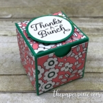 Envelope Punch Board Treat Box with Video Tutorial