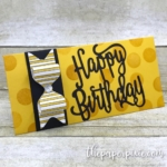 Envelope Punch Board Money Envelope with Video Tutorial