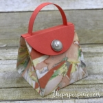 Mini Explosion Purse with Facebook Live Video Tutorial