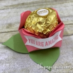 Rosebud Treat Holder with Video Tutorial