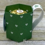 Coffee Mug Treat Holder with Facebook Live Video Tutorial