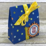 Scalloped Tag Topper Gift Bag with Video Tutorial