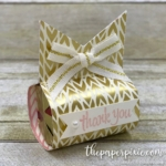 Triple Banner Punch Treat Holder with Video Tutorial