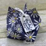 Gift Bag Punch Board Treat Holder with Video Tutorial