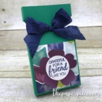 Ghirardelli Square Treat Holder with Video Tutorial