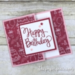 Fancy Fold Gift Card Holder with Video Tutorial
