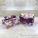 Origami Box in Box with Facebook Live Video Tutorial