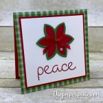 Quilted Christmas Mini Card