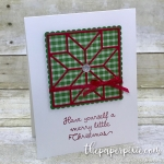 Christmas Quilt Builder Card