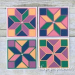 Quilt Builder Set of Mini Cards with Facebook Live Video Tutorial!