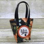 Envelope Punch Board Mini Handbag with Facebook Live Tutorial