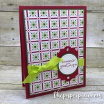 Season's Greetings with Quilted Christmas