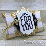 Pillow Box Gift Card Holder