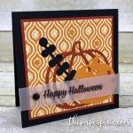 Patterned Pumpkins Mini Card