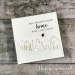 All Hearts Come Home for Christmas Mini Card