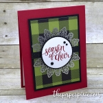 Season of Cheer with Watercolor Christmas