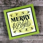 Festive Phrases Mini Card