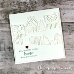 Hearts Come Home Square Card