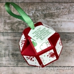 Faceted Christmas Ornament with Video Tutorial