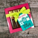 Birthday Chocolates Shadow Box