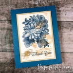 Wood Textured Heartfelt Blooms