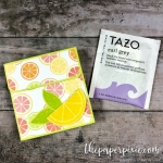 Tea Bag Gift Box with Video Tutorial